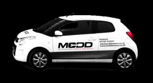 Courtesy Car at Medd Motors Garage