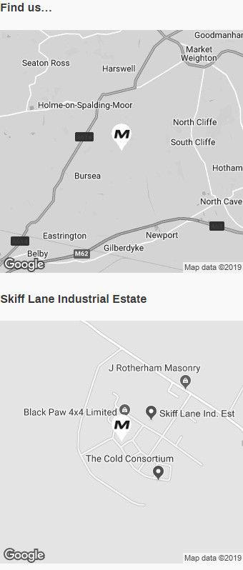 Find Us - Medd Motors Map